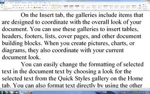 wrap text in word