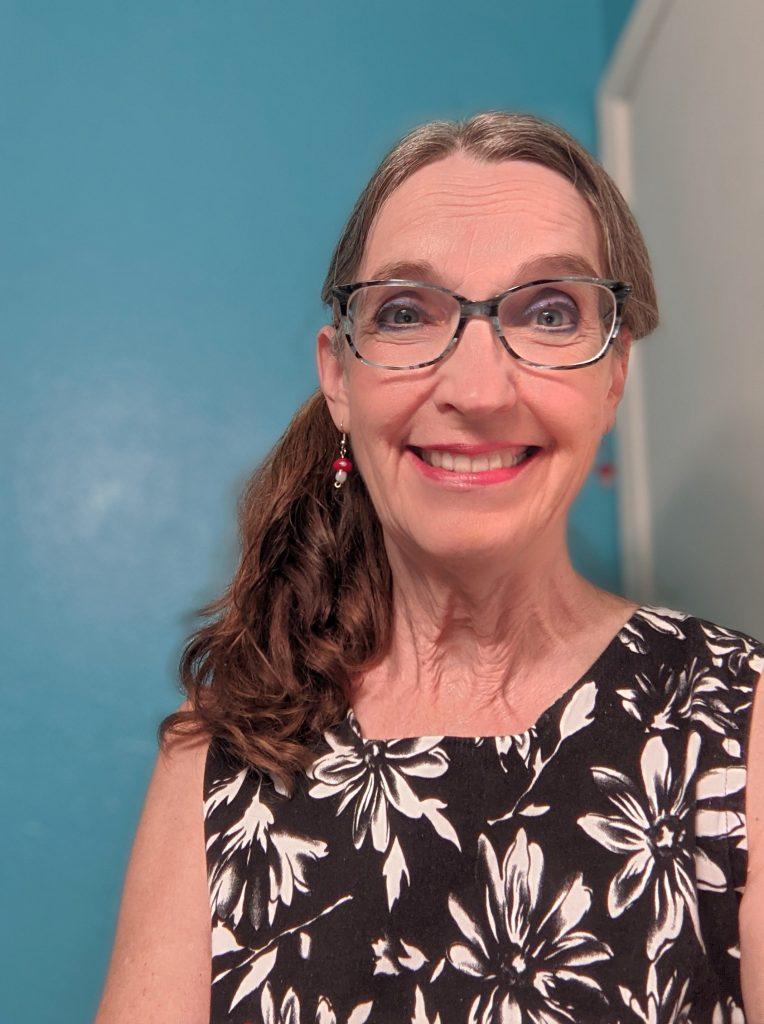 Patti Zink with a big smilw